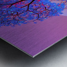Tree Sunset Metal print