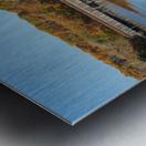 Grand River and Harpersfield covered bridge Metal print