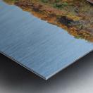 Harpersfield Ohio covered bridge autumn 2020 Metal print