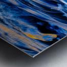 Flowing reflections 5 Metal print