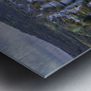 The river Tawe in Ystradgynlais Metal print