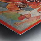 1977 Oregon State Football Art Metal print