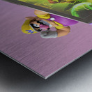 Nintendo Switch Wario Metal print