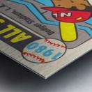 1980 Baseball All Star Game Art Metal print