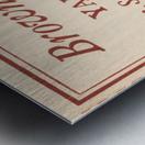 1935 Brown vs. Yale Metal print