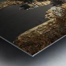 Evening view of Central Park in New York City Metal print