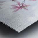 Magnolias against sky Metal print