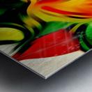 Colour Warriors  Metal print