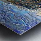 Japanese lake  Metal print