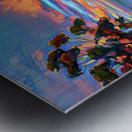 Sunset sky Metal print