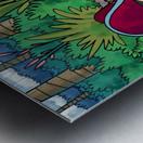 Hidden Treasure - Pirates - Bugville Critters Metal print