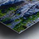 Rainbow Falls Rainier Metal print