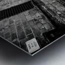Silent Street Metal print