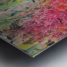 Floral Cascade  Metal print