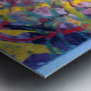 Vibrations Metal print