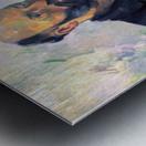 Self-portrait with Pallette by Cezanne Metal print