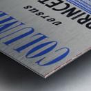 1961 Columbia vs. Princeton Ticket Stub Art Metal print