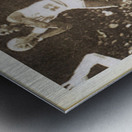 1985 Michael Jordan Polaroid Style Art Metal print