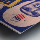 1951 First Pro Bowl Ticket Stub Art Metal print