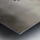 Wesley Allen Shaw 02112 Metal print