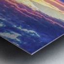 Sunrise over the Atlantic Metal print