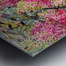 Strawberry Sundae Panel 1 Metal print