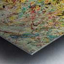 Symphony in Yellow Panel 2 Metal print