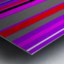 Color Bars 4 Metal print