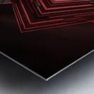 Blood Stream Metal print