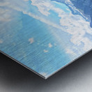 Beautiful Day in the Swiss Alps Metal print