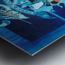 1984 Dallas Cowboys Silver Season Art Metal print