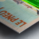 Le Pneu Michelin a vaincu le rail Metal print