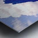 Mountain Peak in the Swiss Alps Metal print
