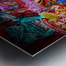 Big Street art  Metal print