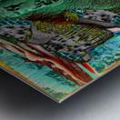 Turbulent Overturn   Sinking of Frigate Evridic Metal print
