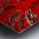 Covid strain.5137 Metal print