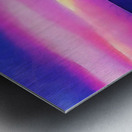 Burst of Pink Metal print
