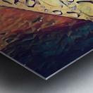 Water Drops Metal print