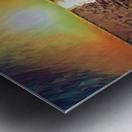 sunset art Metal print