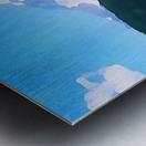 Mt. Ranier Metal print