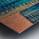 las vegas reflections Metal print
