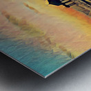 manhattan beach sunset Metal print