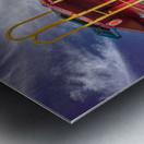Caboose Metal print