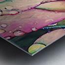 water leaves Metal print