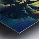 florida palm trees art Metal print