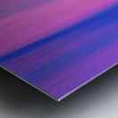 Purple Patterns Metal print