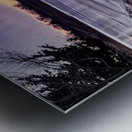 A Violet Sunset Metal print