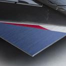 A Line of Planes Metal print