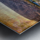 Cheticamp with textures Metal print