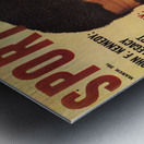 1964 Sport Magazine Muhammad Ali Cover Metal print
